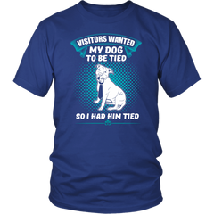 My Dog To Be Tied T-shirt H5