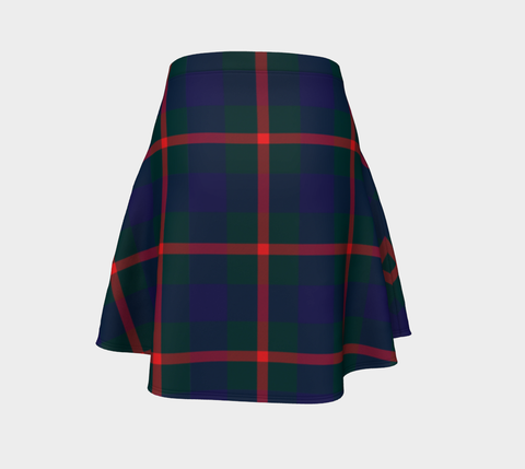 Tartan Skirt - Agnew Modern Women Flared Skirt A9 |Clothing| 1sttheworld