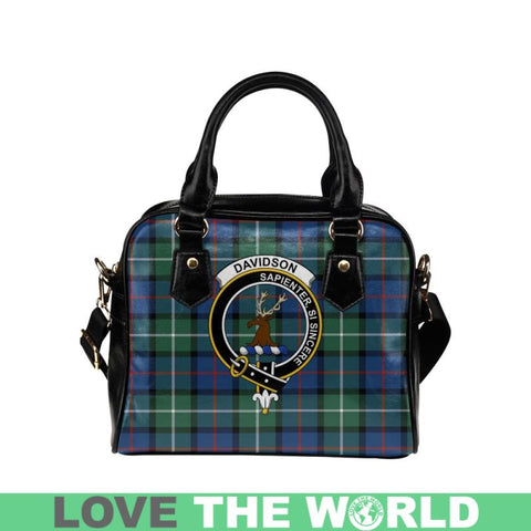 Davidson Of Tulloch Tartan Shoulder Handbag - Bn Pu Handbags