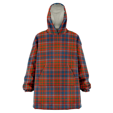 Cameron of Lochiel Ancient Snug Hoodie - Unisex Tartan Plaid Front
