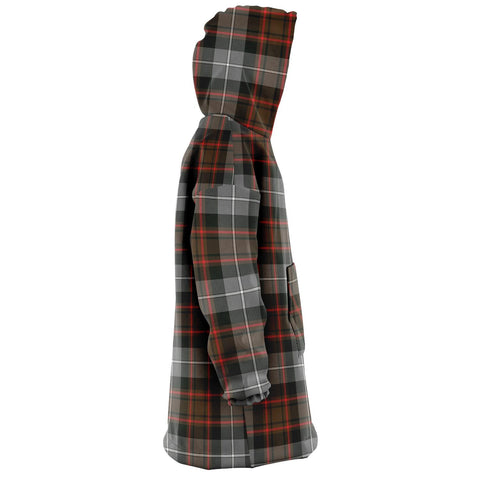 MacRae Hunting Weathered Snug Hoodie - Unisex Tartan Plaid Right