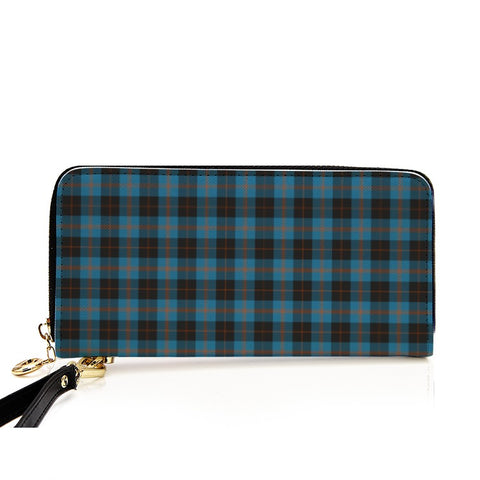 ANGUS ANCIENT TARTAN ZIPPER WALLET HJ4