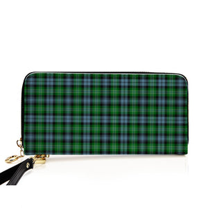 ARBUTHNOT ANCIENT TARTAN ZIPPER WALLET HJ4