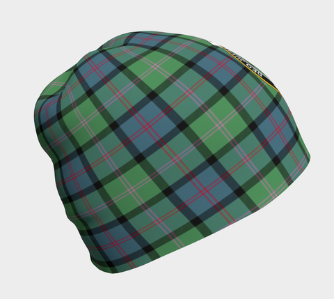 Image of MacThomas Ancient Tartan Clan Crest Beanie