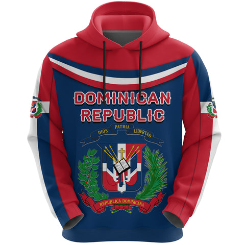 Dominican Republic Hoodie - Vibes Version K8