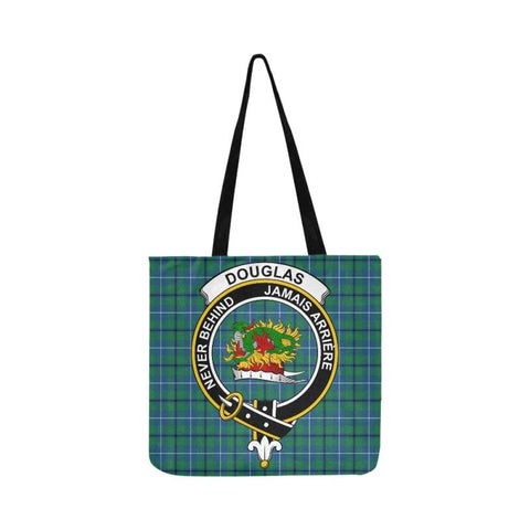 Douglas Ancient Clan Badge Tartan Reusable Shopping Bag - Hb1 Bags