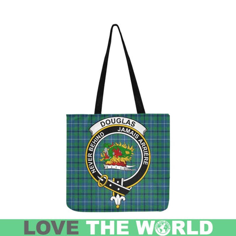 Image of Douglas Ancient Clan Badge Tartan Reusable Shopping Bag - Hb1 Bags
