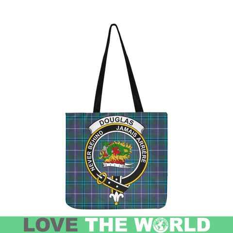 Douglas Modern Clan Badge Tartan Reusable Shopping Bag - Hb1 Bags