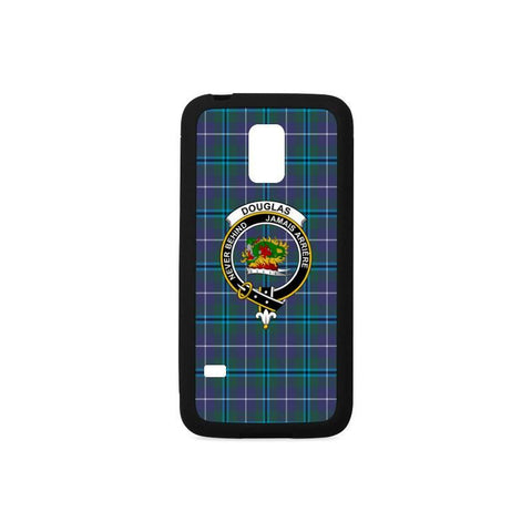 Douglas Tartan Clan Badge Rubber Phone Case Hj4 One Size / Rubber Case For Samsung Galaxy S5 Mini