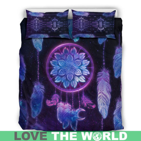 Image of Dreamcatcher, dream catcher bedding set, dream catcher duvet cover, native american bedding set