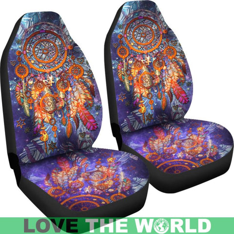 Image of Dreamcatcher, car seat cover, dream catcher seat covers, native american