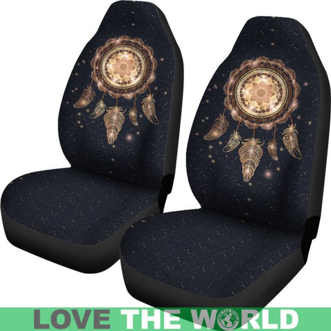 Image of Dreamcatcher Galaxy Car Seat Covers Ha8