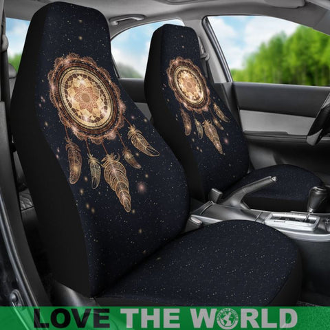Dreamcatcher Galaxy Car Seat Covers Ha8
