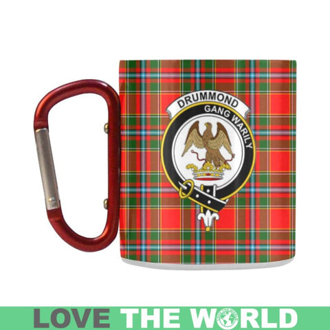 Image of Tartan Mug - Clan Drummond Tartan Insulated Mug A9 | Love The World
