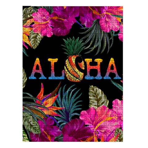 Kanaka Maoli (Hawaiian) Wood Puzzle - Tropical Flower Hibiscus | Love The World
