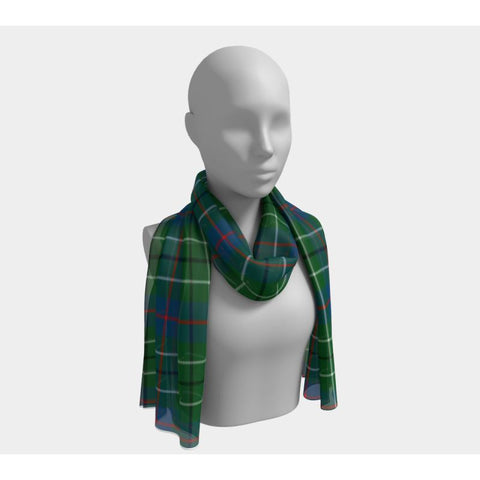 Tartan Long Scarf - Duncan Ancient