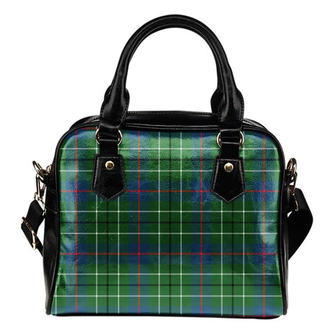 Duncan Ancient Tartan Shoulder Handbag - Bn Handbags