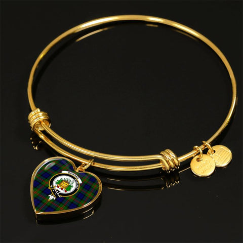 Dundas Modern 02 Tartan Golden Bangle - Tn Jewelries