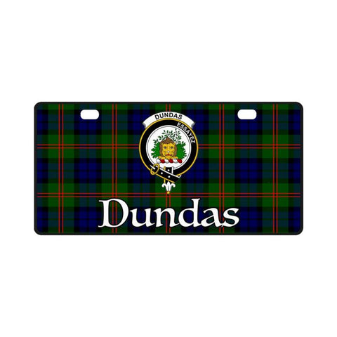 Dundas Modern 02 Tartan License Plates - Bn |Car Accessories| 1sttheworld