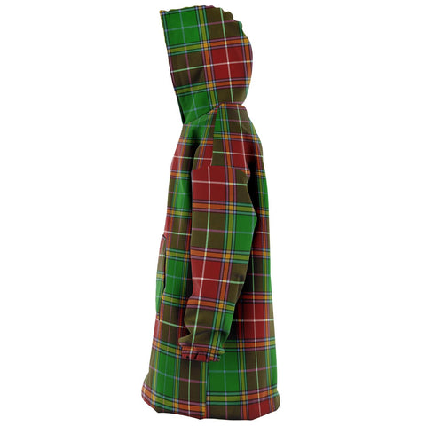 Image of Baxter Modern Snug Hoodie - Unisex Tartan Plaid Left