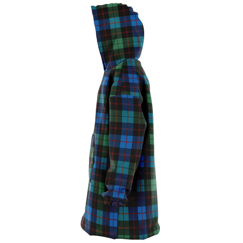 Guthrie Ancient Snug Hoodie - Unisex Tartan Plaid Left