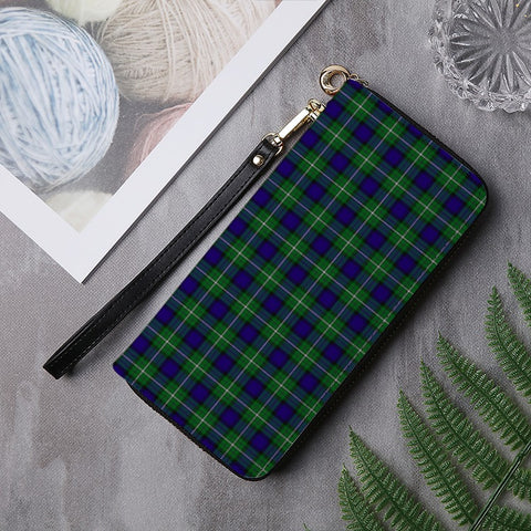 Image of ALEXANDER TARTAN ZIPPER WALLET HJ4