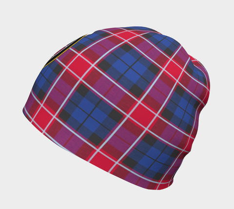 Graham of Menteith Red Tartan Clan Crest Beanie Hj4