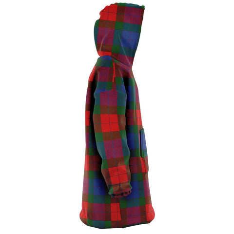 Mar Snug Hoodie - Unisex Tartan Plaid Right