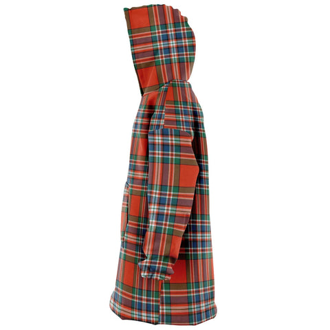 Image of MacFarlane Ancient Snug Hoodie - Unisex Tartan Plaid Left