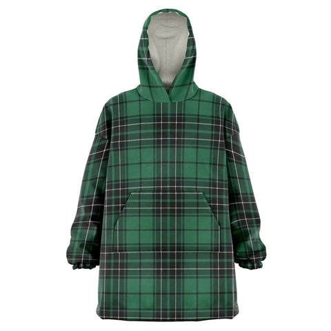MacLean Hunting Ancient Snug Hoodie - Unisex Tartan Plaid Front
