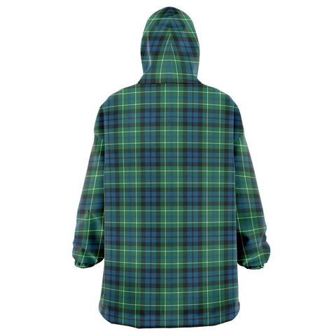 Image of MacNeill of Colonsay Ancient Snug Hoodie - Unisex Tartan Plaid Back