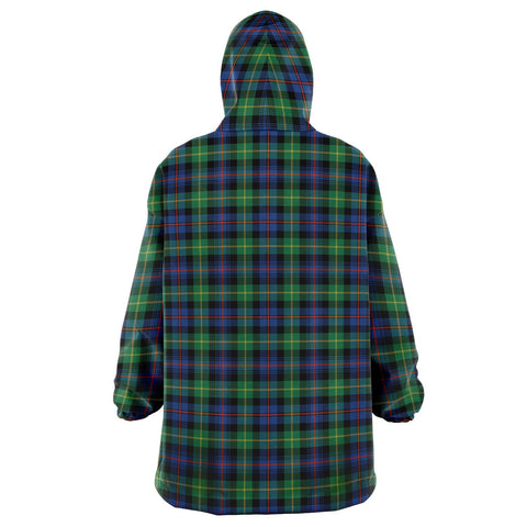 Image of Farquharson Ancient Snug Hoodie - Unisex Tartan Plaid Back