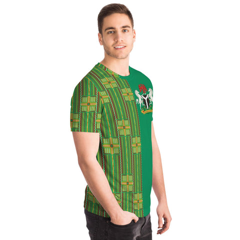 Image of Latest Ankara T-Shirt - Nigeria 2019 TH5