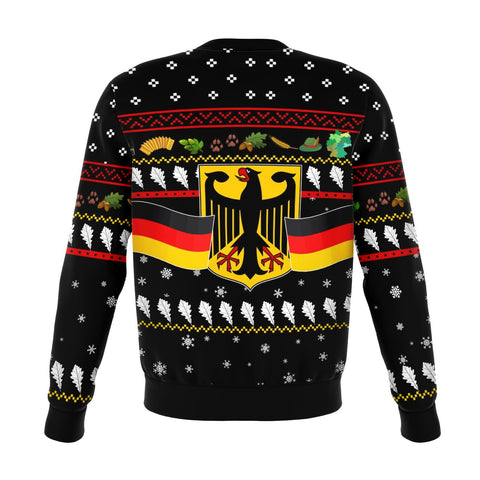 Image of Germany Christmas Sweatshirt Coat Of Arms TH5