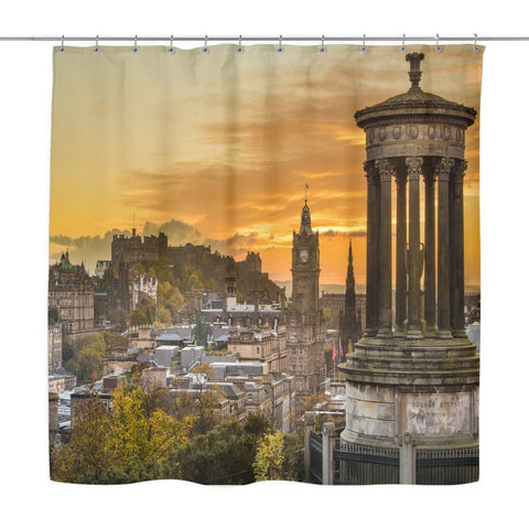 Edinburgh Shower Curtain P1 Curtains