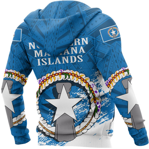 Northern Mariana Islands Special Zipper Hoodie A7