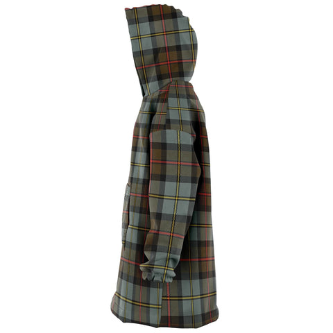 MacLeod of Harris Weathered Snug Hoodie - Unisex Tartan Plaid Left
