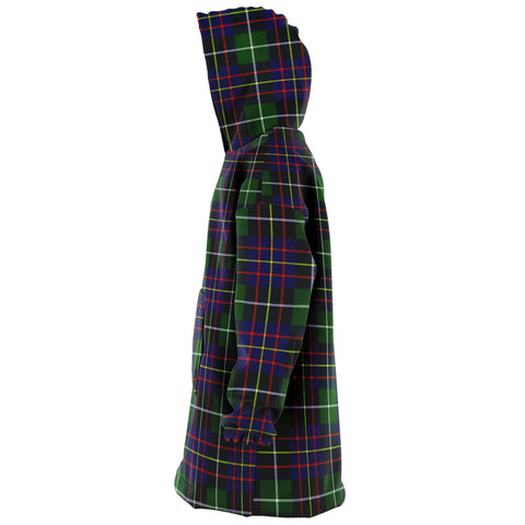 Image of Inglis Modern Snug Hoodie - Unisex Tartan Plaid Left