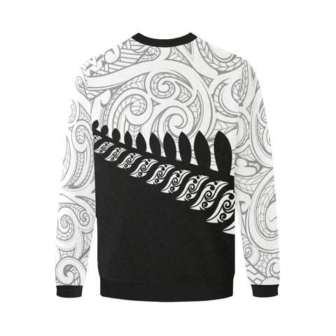 New Zealand Silver Fern Sweatshirt | Men & Women | Maori Clothing