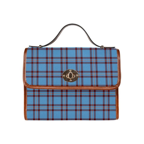 Elliot Ancient Tartan Canvas Bag | Waterproof Bag | Scottish Bag