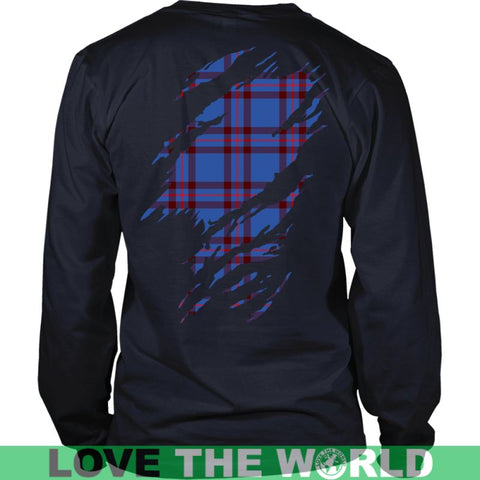 Image of Elliot Tartan Shirt And Tartan Hoodie In Me