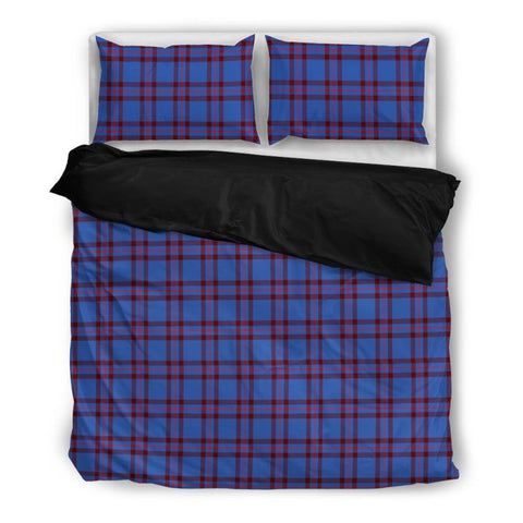 Elliot Modern Tartan Bedding Set Nl25 Bedding Set - Black / Twin Sets