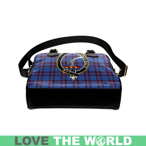 Elliot Modern Tartan Shoulder Handbag - Bn Pu Handbags