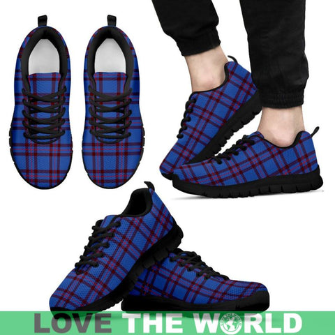 Image of Elliot Modern Tartan Sneakers - Bn Mens Sneakers White 1 / Us5 (Eu38)