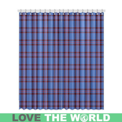 Elliot Modern Tartan Window Curtain Tk1 Curtains