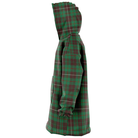 MacKinnon Hunting Ancient Snug Hoodie - Unisex Tartan Plaid Left