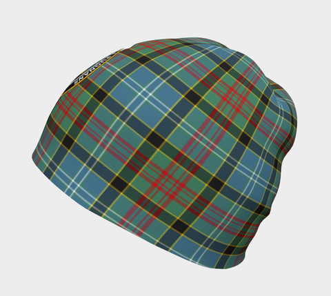 Image of Paisley District Tartan Clan Crest Beanie Hj4