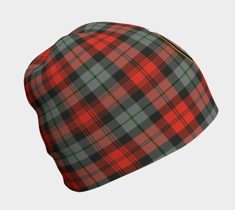 Image of MacLachlan Weathered Tartan Clan Crest Beanie