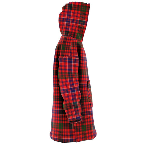MacRae Modern Snug Hoodie - Unisex Tartan Plaid Right