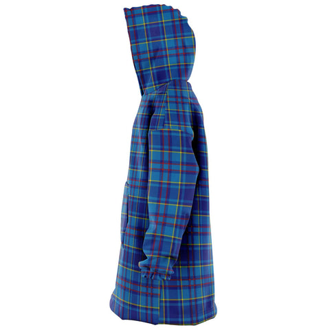 Mercer Modern Snug Hoodie - Unisex Tartan Plaid Left